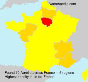 Familiennamen Aurelia - France