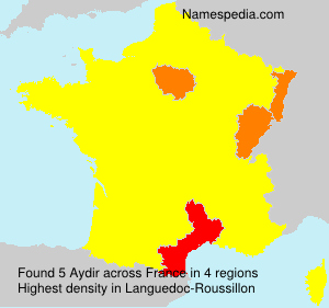 Surname Aydir in France