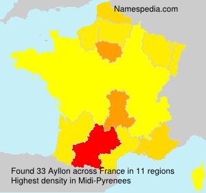 Familiennamen Ayllon - France
