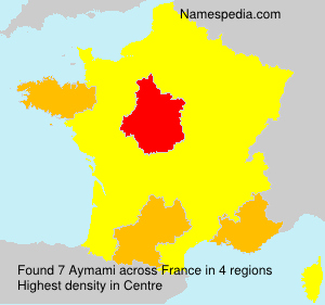 Surname Aymami in France