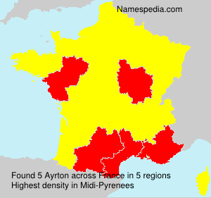 Familiennamen Ayrton - France