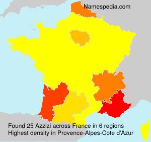 Surname Azzizi in France