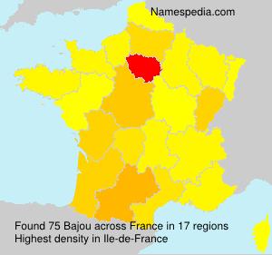 Surname Bajou in France