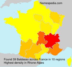 Surname Baldasso in France