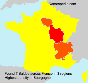 Surname Baldos in France