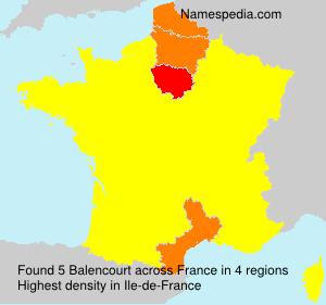 Balencourt - France