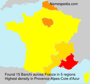 Surname Banchi in France