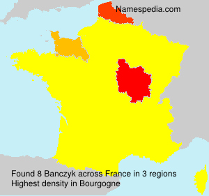 Surname Banczyk in France
