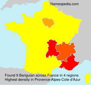 Surname Bariguian in France