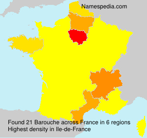 Surname Barouche in France