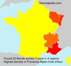 Barrile - France