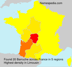 Surname Barruche in France