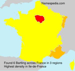 Surname Bartling in France
