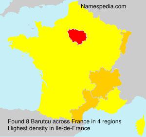 Familiennamen Barutcu - France