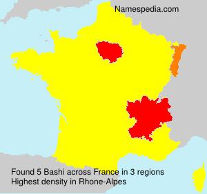 Familiennamen Bashi - France
