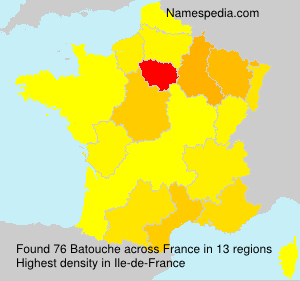 Surname Batouche in France