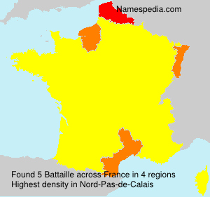 Surname Battaille in France
