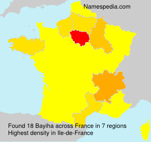 Surname Bayiha in France