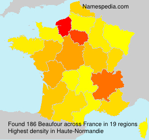 Surname Beaufour in France