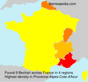 Surname Bechari in France