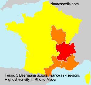 Surname Beermann in France