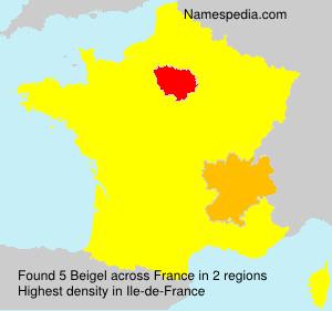Surname Beigel in France