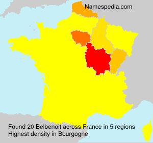 Surname Belbenoit in France