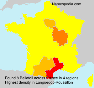 Surname Bellafdil in France
