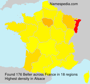 Surname Beller in France