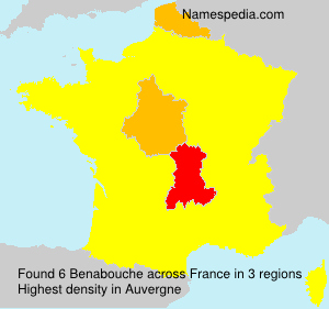 Surname Benabouche in France
