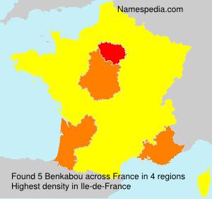 Surname Benkabou in France