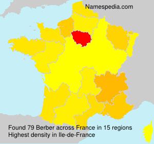 Familiennamen Berber - France