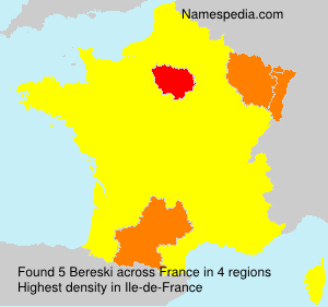 Surname Bereski in France