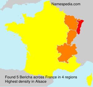 Surname Bericha in France
