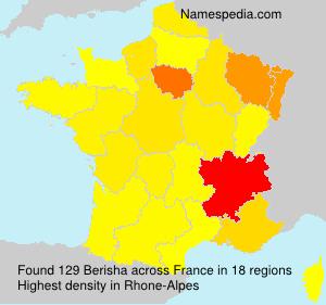 Familiennamen Berisha - France