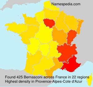 Familiennamen Bernasconi - France