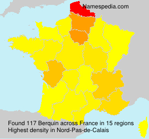Surname Berquin in France