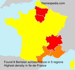 Surname Bertalan in France