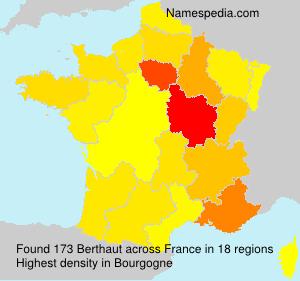 Surname Berthaut in France