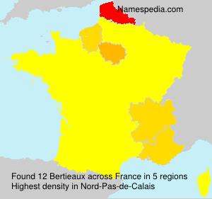 Familiennamen Bertieaux - France