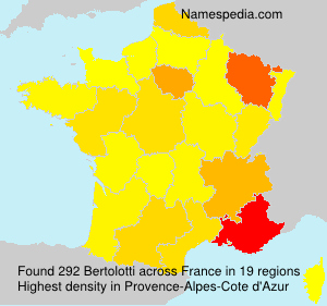 Surname Bertolotti in France