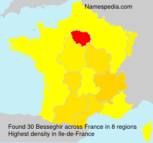 Surname Besseghir in France