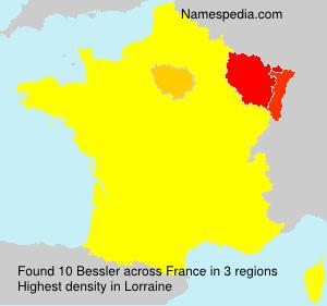Familiennamen Bessler - France