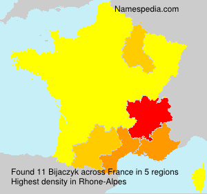 Surname Bijaczyk in France