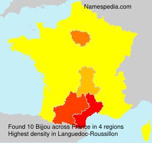 Familiennamen Bijjou - France