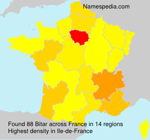 Surname Bitar in France