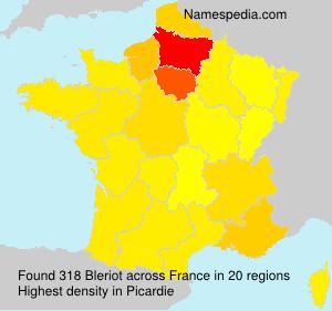 Surname Bleriot in France