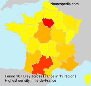 Surname Bley in France
