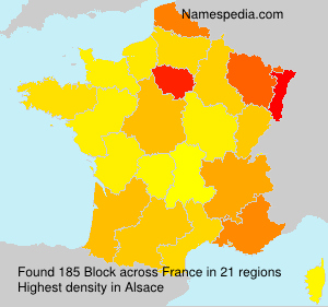 Surname Block in France