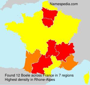Surname Boele in France